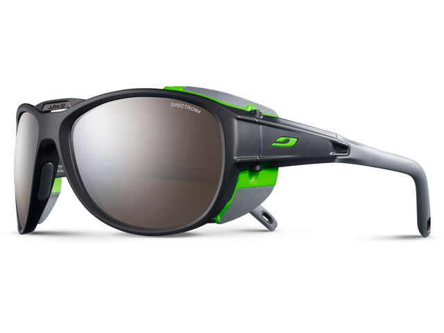 Julbo Expl**** 2.0 Spectron 4 Sunglasses Matt Gray/Green-Brown Flash Silver